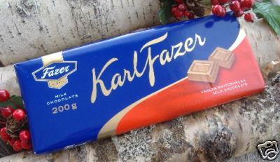 Fazer's Red Label Chocolate