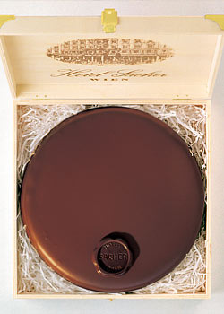 The Original Sacher Torte made by Hotel Sacher